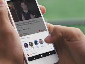 """""""YouTube"""" videohostinqinin mobil versiyasında messencer istifadəyə veriləcək"""