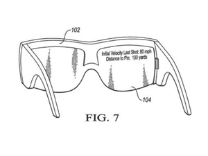 474c41536f Nike patent hints at a head-up display to help golfers read putting greens