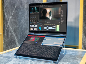 Asus Unveils Project Precog, a Dual-Screen Laptop with Built