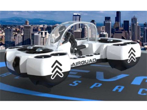 The Airquadone Is Your New Flying Quad Bike